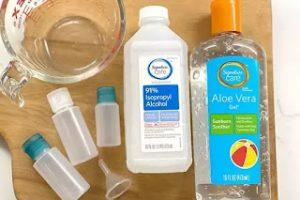 Cara Membuat Hand Sanitizer Jel Sendiri
