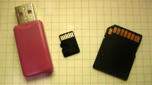 microSD rusak